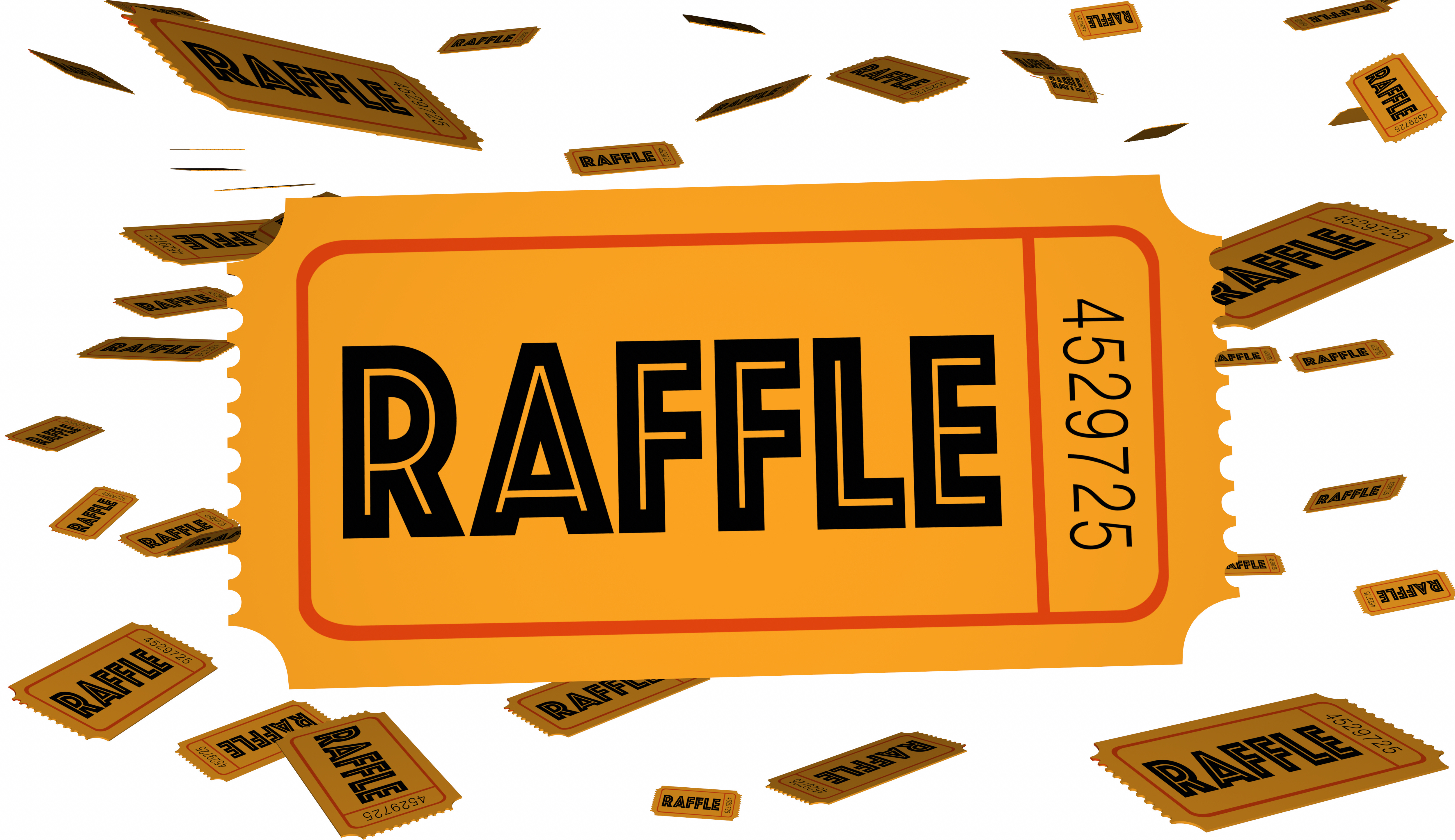 7 seven raffle tickets springville rotary